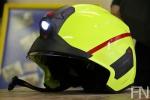 Feuerwehr Norderney, Bild Nr. 7, der neue Helm